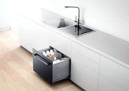 林内净水机J306和林内洗碗机W702构成的专业厨房洗净系统